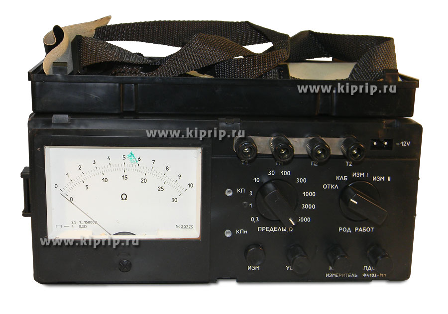 Ф4103-М1 Измеритель сопротивления заземлений Ф4103 Схема на измеритель ф4103 м1